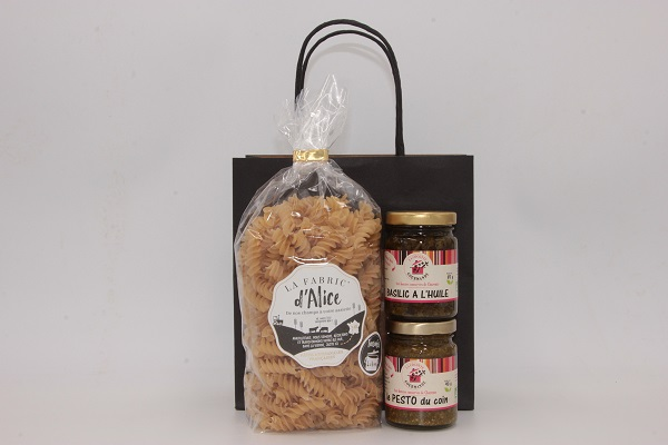 "Coffret ""Pasta Pesto"""